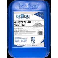 Гидравлическое масло GT OIL GT Hydraulic HVLP 32, 20л